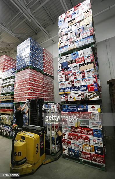 The Star bottle returned is lifted to a pallet and awaits transport to Molson as the Toronto Star follows the life of a Molson Canadian bottle from...