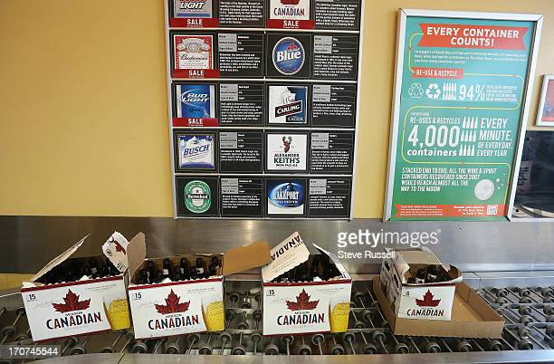 The Star bottle returned waits to enter the sorting area as the Toronto Star follow the life of a Molson Canadian bottle from being returned to a...
