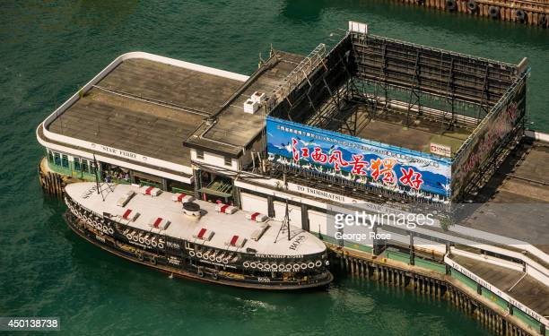 The Star Ferry terminal in Wan Chai is viewed on May 24 in Hong Kong China Viewed as the world's third most important trade and financial centers...