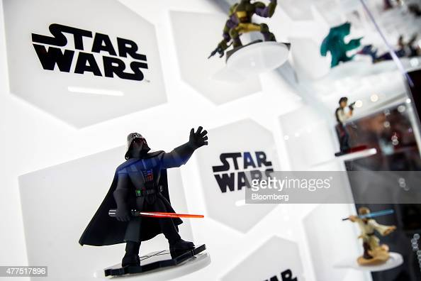The Star Wars Darth Vader character for the Disney Infinity gaming system is displayed during the E3 Electronic Entertainment Expo in Los Angeles...