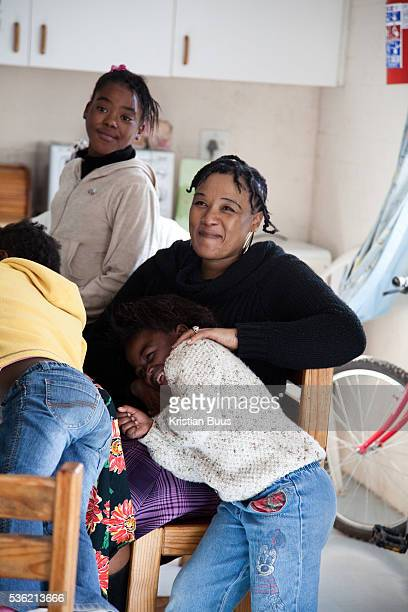 The Stars Foundation visiting Home from Home in Cape Town South Africa Priscilla one of Home form Home's foster mothers having a good time visiting...