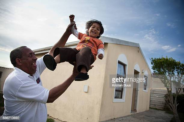 The Stars Foundation visiting Home from Home in Cape Town South Africa Warren with one of the children in his care Warren and Sally are one of the...