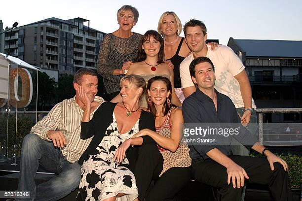 The stars of Australian hit medical drama 'All Saints' Paul Tassone Tammy Macintosh Georgia Parker Chris Gabardi Judith McGrath Natalie Saleeba Alex...