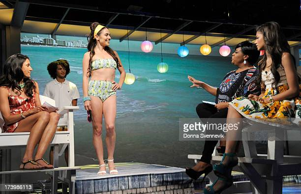 THE VIEW The stars of 'Teen Beach Movie' with iconic teen beach movie star Frankie Avalon appeared today Wednesday July 17 2013 on ABC's 'The View'...