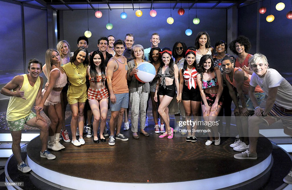 THE VIEW - The stars of 'Teen Beach Movie' with iconic teen beach movie star Frankie Avalon appeared today, Wednesday, July 17, 2013 on ABC's 'The View.' 'The View' airs Monday-Friday (11:00 am-12:00 pm, ET) on the ABC Television Network. SHEPHERD
