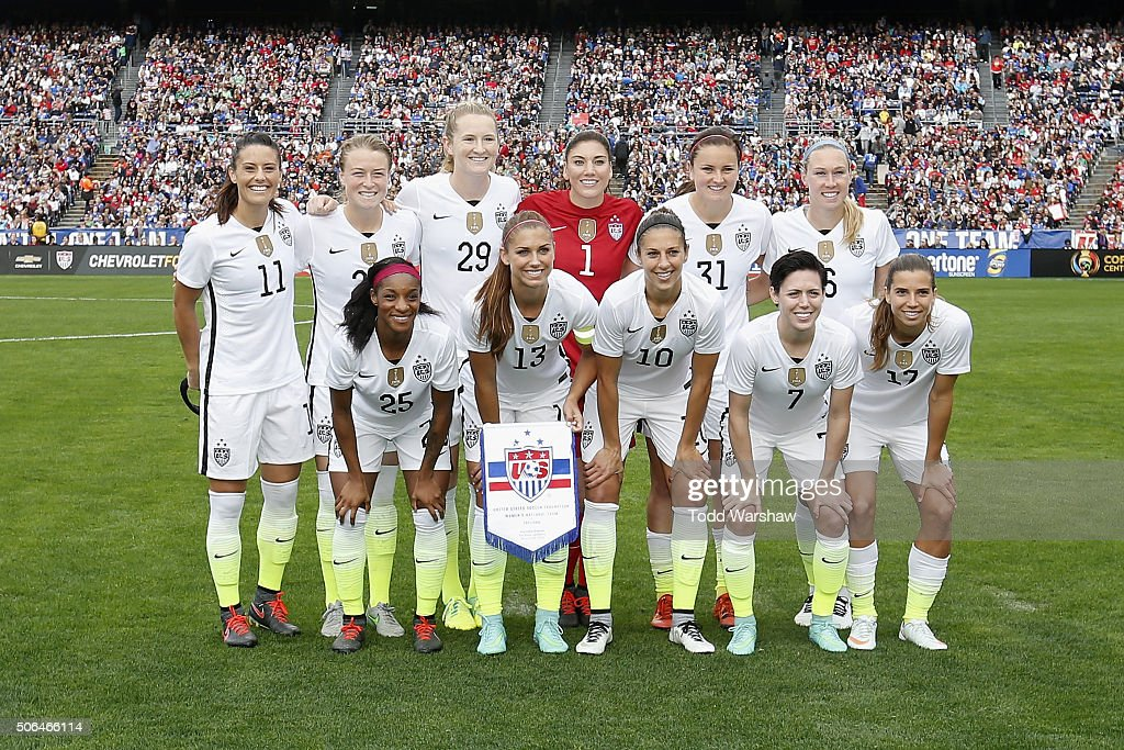 U.S. Women's Soccer Players Allege Wage Discrimination