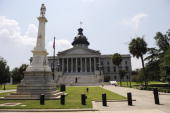 The State Capitol Building is seen before South Carolina Gov Mark Sanford held a press conference at the State Capitol June 24 2009 in Columbia South...