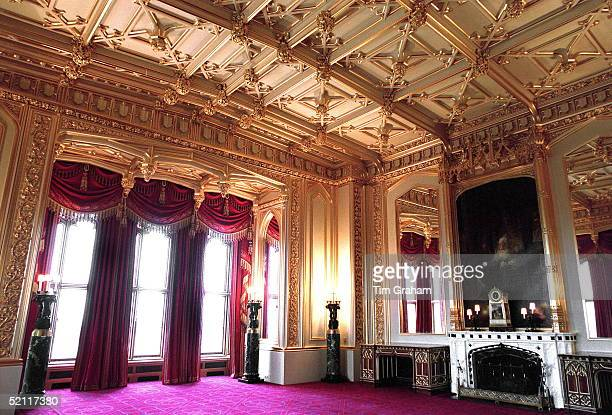 The State Dining Room Restored Completely After The Fire At Windsor Castle