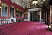 The State Dining Room which will be used during the Wedding reception of Prince William and Kate Middleton at Buckingham Palace on March 25 2011 in...