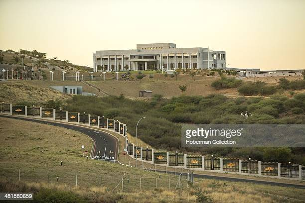The State House Of The Republic Of Namibia Is Also The Administrative Capitol Of Namibia And The Offical Residence Of The President