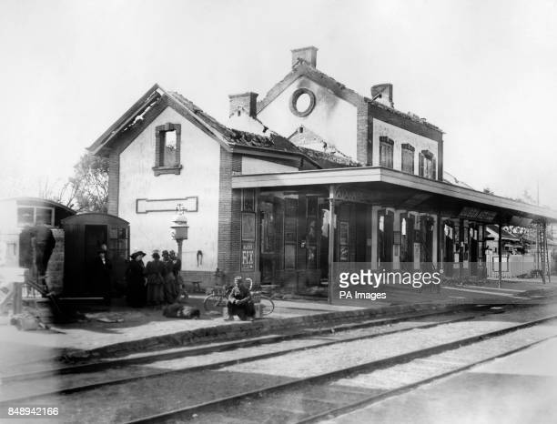 The station of La Fere Champenoise which played a pivotal role in the Battle of the Marne