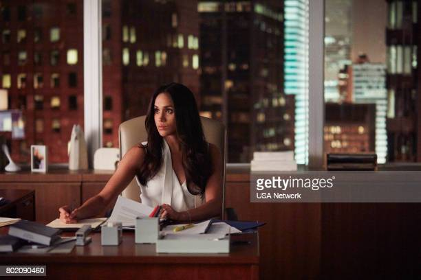 SUITS 'The Statue' Episode 702 Pictured Meghan Markle as Rachel Zane