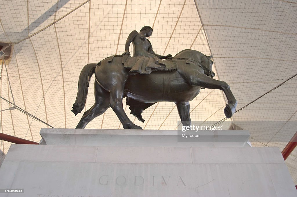 The statue of Lady Godiva Coventry UK