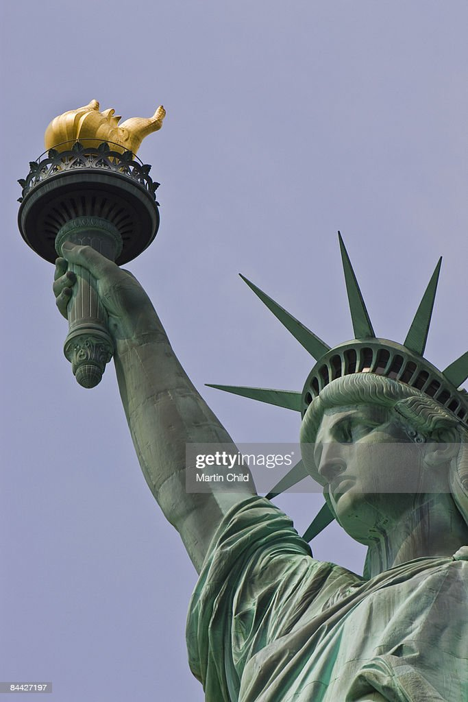 the Statue of Liberty : Stock Photo