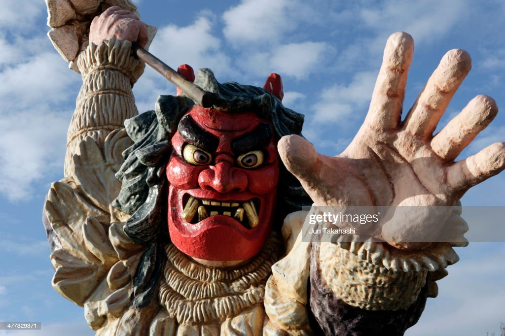 The statue of Namahage
