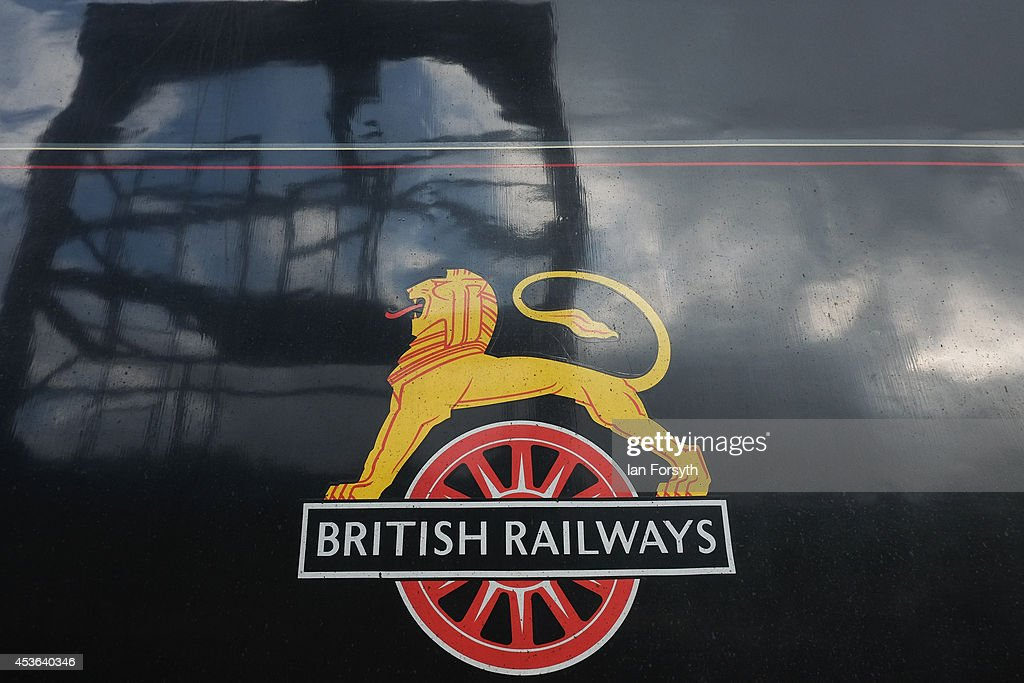 The steam locomotive 'Chiru' sits on sidings at Grosmont train engine sheds in preparation for the ceremony to mark a second platform opening at Whitby train station on August 15, 2014 in Whitby, England. The second platform will provide passengers with more options for travel to the Yorkshire seaside town on the North Yorkshire Moors Railway and was the first time in half a century two steam locomotives were side by side at the station.