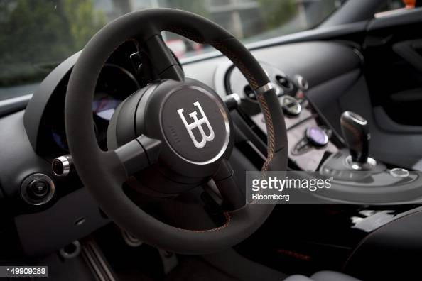 general views of the 2 million bugatti veyron vitesse photos and images getty images. Black Bedroom Furniture Sets. Home Design Ideas