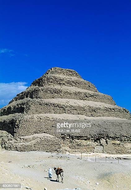 The Step Pyramid of Djoser Saqqara Memphis Egyptian civilisation Old Kingdom Dynasty III