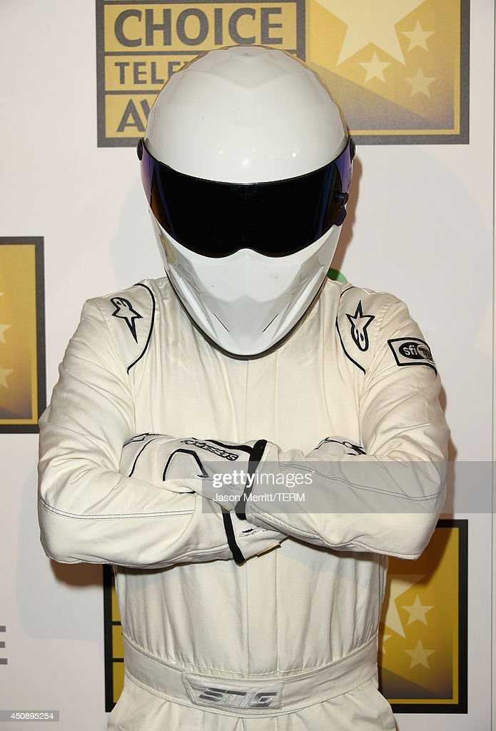 <a gi-track='captionPersonalityLinkClicked' href=/galleries/search?phrase=The+Stig&family=editorial&specificpeople=5584742 ng-click='$event.stopPropagation()'>The Stig</a> of Top Gear attends the 4th Annual Critics' Choice Television Awards at The Beverly Hilton Hotel on June 19, 2014 in Beverly Hills, California.