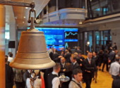 The Stock Exchange bell is used to open or close the session in Warsaw on November 9 2010 Warsaw Stock Exchange shares jumped when they were launched...