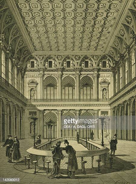 The Stock Exchange in Vienna Austria 19th Century