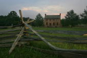 The stone house which served as a field hospital during the fighting on the battlefields of Manassas or Bull Run as it was generally known in the...