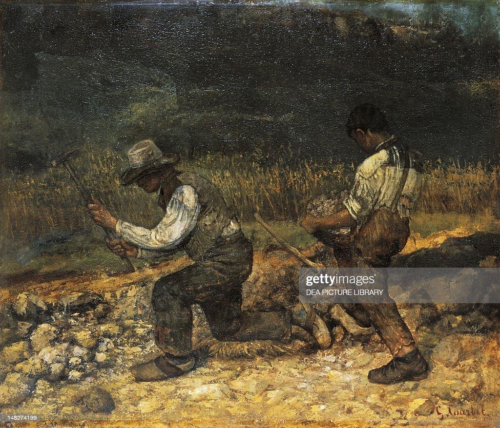 The stonebreaker by Gustave Courbet Winterthur Museum Oskar Reinhart Am Stadtgarten