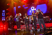 The Stooges Brass Band performs at the 2016 Essence Music Festival at the MercedesBenz Superdome on July 3 2016 in New Orleans Louisiana