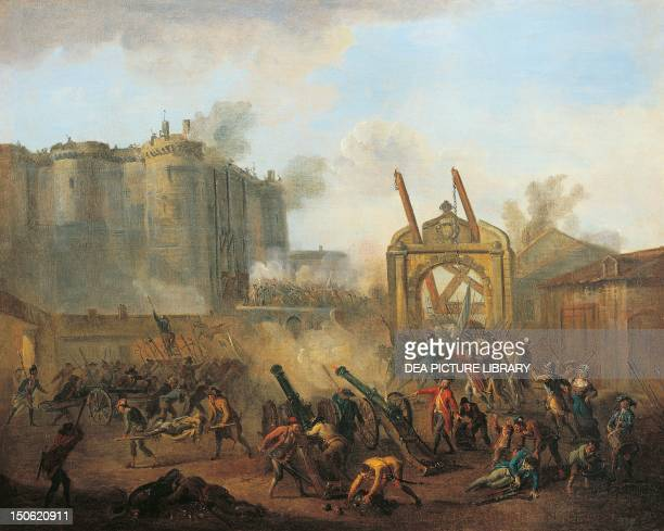 The storming of the Bastille July 14 1789 French Revolution France 18th century