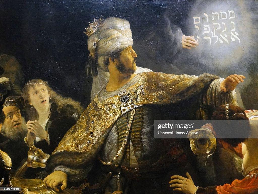 belshazzar u0027s feast 1635 painting by rembrandt van rijn pictures