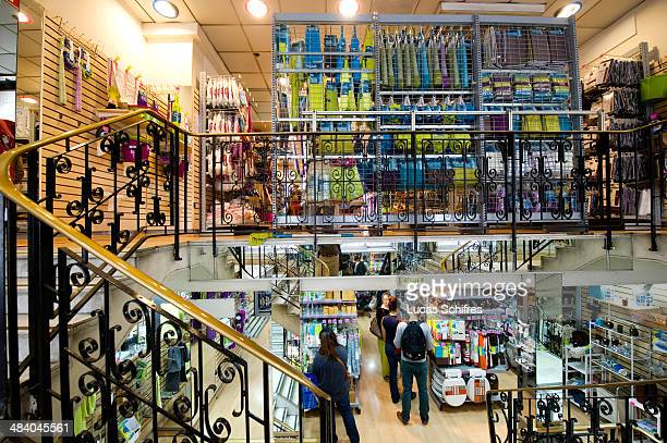 The straircases are encumbered and will be renovated in Tati's historic first store on September 30 in Paris France Tati is a brand of discounted...