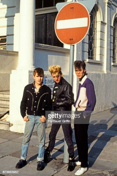 The Stray Cats in London on June 07 1981 in London United Kingdom 170612F1