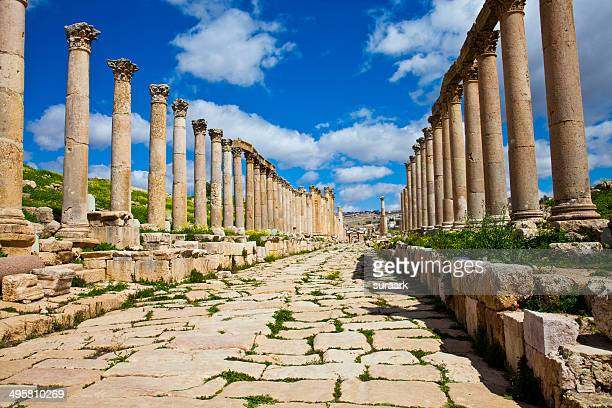 The Street of Columns, Jerash, Jordan
