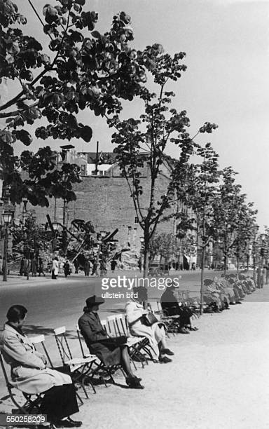 The street Unter den Linden in the spring Vintage property of ullstein bild Photo by Reich /ullstein bild via Getty Images