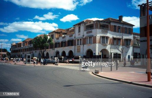The streets of Antananarivo