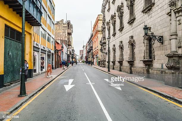 La ville de Lima, au Pérou