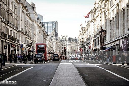 The streets of London - Regent Street