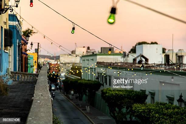 The Streets of Mazatlan Sinaloa Mexico