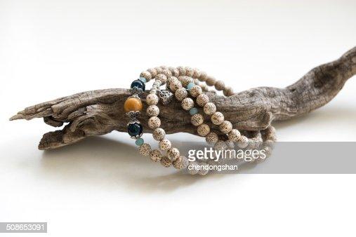 The string of Bodhi Bracelet : Stock Photo