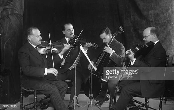 The string quartet founded by Maurice Hewitt French violinst and conductor On 1928