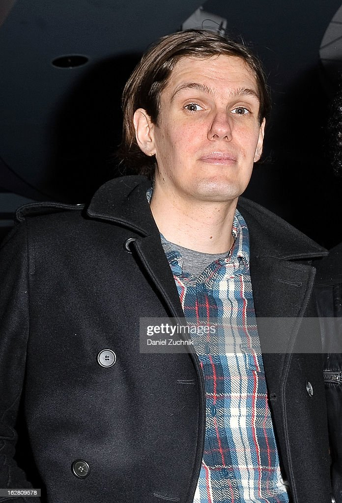 The Strokes bassist Nikolai Fraiture attends Garden of Dreams Foundation Talent Show Auditions at The Theater at Madison Square Garden on February 27, 2013 in New York City.