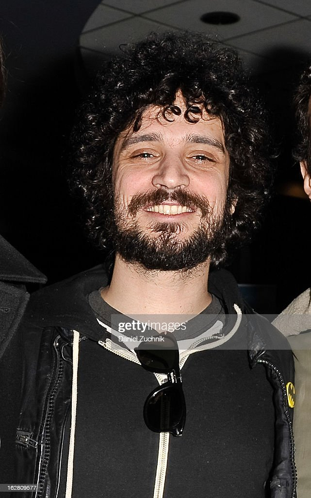 The Strokes drummer Fabrizio Moretti attends Garden of Dreams Foundation Talent Show Auditions at The Theater at Madison Square Garden on February 27, 2013 in New York City.