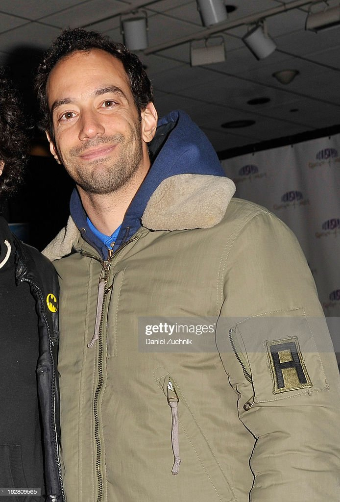 The Strokes guitarist Albert Hammond, Jr. attends Garden of Dreams Foundation Talent Show Auditions at The Theater at Madison Square Garden on February 27, 2013 in New York City.