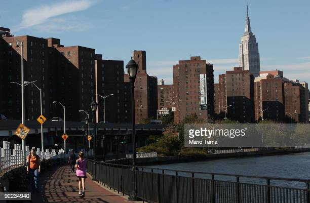 The Stuyvesant Town and Peter Cooper Village apartment complexes are seen October 22 2009 in New York City The sprawling 110building Manhattan...