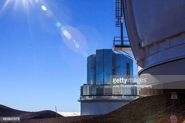 The Subaru Telescope at the Mauna Kea Observatories on the Big Island of Hawaii