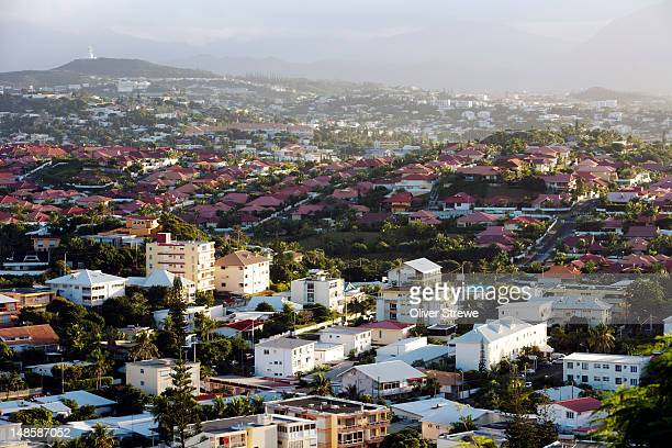 The suburbs of Noumea.