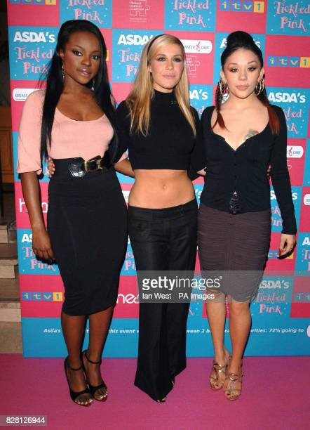 The Sugababes arrive at ASDA's 'Tickled Pink' 2nd annual charity concert to raise funds for breast cancer at the Albert Hall central London Sunday 18...