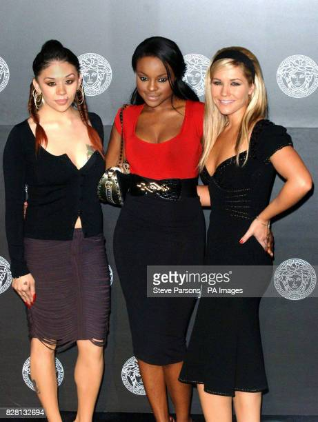The Sugababes arrive for the relaunch of Versace's Sloane Street Boutique in central London Monday 19 September 2005 PRESS ASSOCIATION Photo Photo...