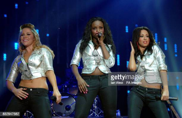 The Sugababes in concert at Wembley Arena in north London