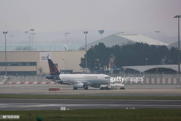 The Sukhoi Superjet 100 owned by CITYJET an Irish airline leased to Brussels Airlines Brussels airlines leased 5 of the SSJ100 aircrafts from CITYJET...